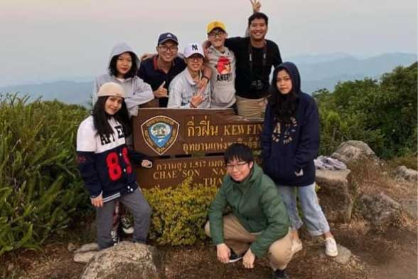 Hue Student Study Visit to Payap University