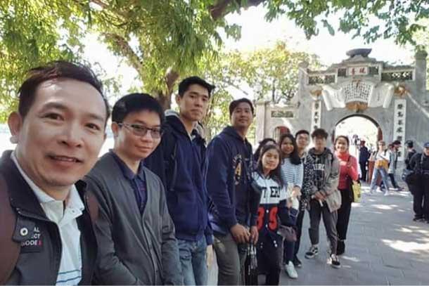 Payap Student Study Visit to Vietnam National University, Hanoi