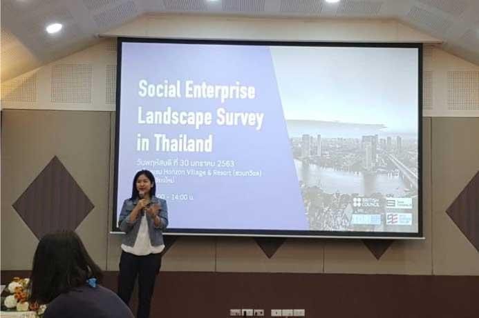 Social Enterprise Landscape Survey in Thailand