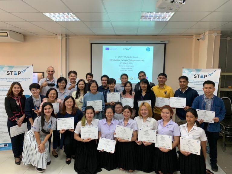 Erasmus+ StepUp Workshop at Center for Social Impact